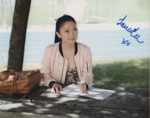 Lana Condor To All The Boys Autographed Signed 8x10 Photo COA R1W