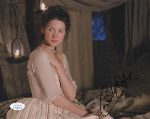 Caitriona Balfe Outlander Autographed Signed 8x10 Photo JSA COA