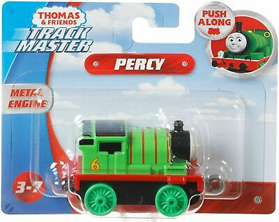 Thomas And Friends Track Master Push Along Percy Die-cast Metal Engine New