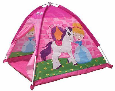 Kids Girls Indoor Outdoor Pop Up Pony Wendy House Play Tent NEW