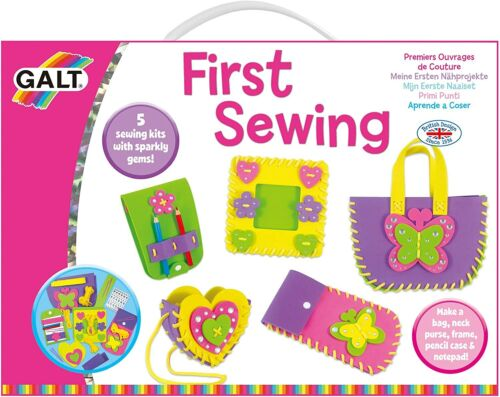 NEW Galt Toys First Sewing Kit for Kids Learn to Sew DIY Craft Art Kit Ages 5+