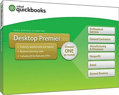 Quickbooks Premier 2017 2 User