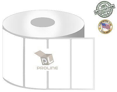 Proline 6 Rolls 3x1 Direct Thermal Shipping Labels - 1375roll Zebra Lp2844