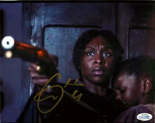 Cynthia Erivo Signed HARRIET 8x10 Photo PROOF ACOA A Tubman El Royale