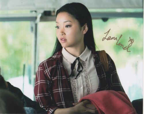 Lana Condor To All The Boys Autographed Signed 8x10 Photo COA EE3