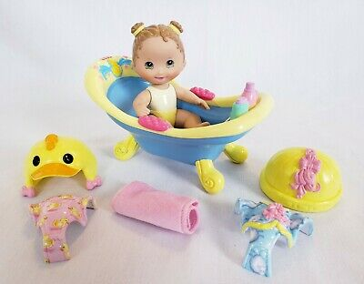Fisher Price Snap 'n Style Baby -Bathtime for Kira -bath tub -babies -Complete