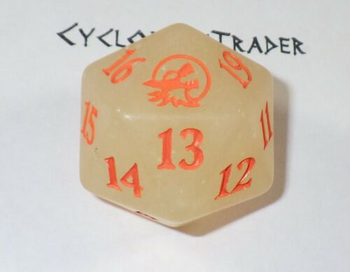 Life Counter ~ Innistrad MIDNIGHT HUNT ~ Oversized Spindown D20 Glow in The Dark