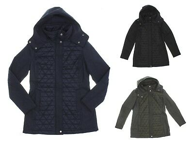 Marc New York Quilted Jacket - Marc New York by Andrew Marc Women's Quilted Hooded Jacket - Select size/color