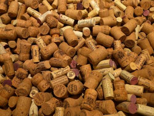 500 Wine Corks GRAB BAG! Champagne/Synthetic/Natural from around the U.S.