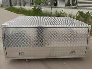 Extra Cab Checker Plate Alloy Canopy, UTE Canopy  Aluminium Campbellfield Hume Area Preview