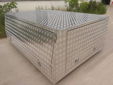 Single Cab Checker Plate Alloy Canopy, UTE Canopy  Aluminium Campbellfield Hume Area Preview