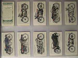 A-1923-full-set-of-50-Lambert-and-Butler-Motor-Cycles-in-vgc
