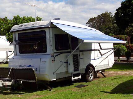 2012 ECO-TOURER Hybrid (semi off-road) Slipstream shower/toilet