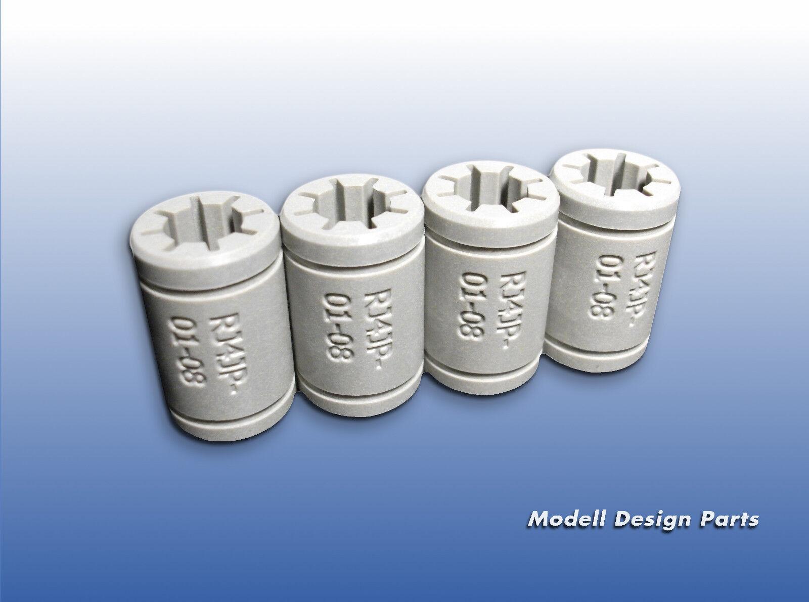 SC8i Lagerblock mit Igus DryLin® RJ4JP Linearlager CNC Gleitlager statt SC8UU