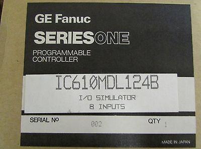Ge Fanuc Ic610mdl124b 8 Input Series One Io Simulator