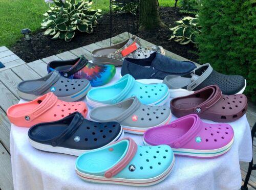 Crocs Classic Clogs Bistro Pro Lite Ride RealTree Camo Crocband Women Men Colors