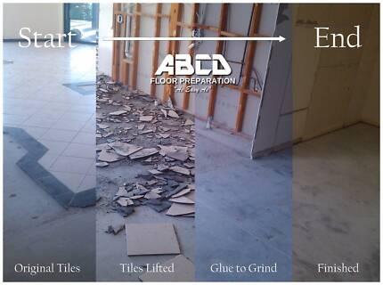 ABCD Floor Preparation