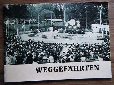 Weggefährten Festschrift Zittau Betriebe TKZ Robur 25 Jahre DDR Oberlausitz 1974