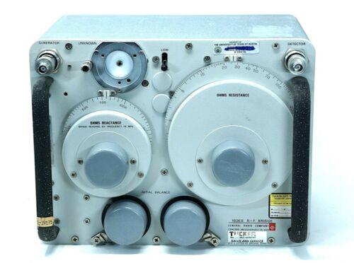Vintage GENERAL RADIO 1606B RF Bridge 400 KHz to 60 MHz