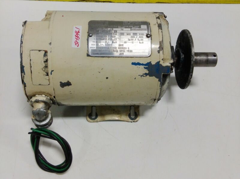 LINCOLN ELECTRIC 3/4HP 56FR 1750RPM ELECTRIC MOTOR D-2J8227