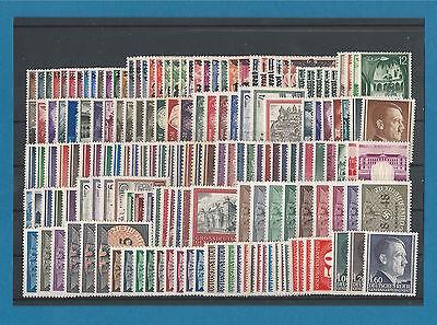 GG komplette Sammlung Nr. 1-125 , D 1-36 & Z 1-4  inkl. 86-88B    **  !!