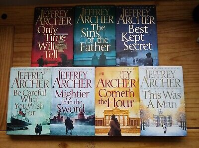 Jeffrey Archer Clifton Chronicles 7 Hardback Books Pre Owned