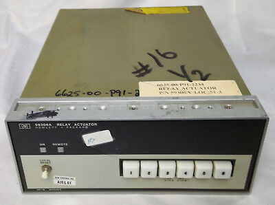Hp Keysight 59306a Relay Actuator Hewlett Packard Electrical For Parts Only