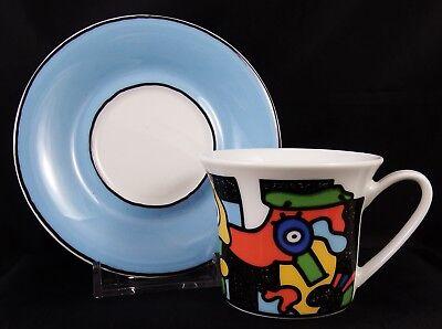 Rosenthal Andy Warhol Coffee Cult Otmar Alt Espresso Cup and Saucer