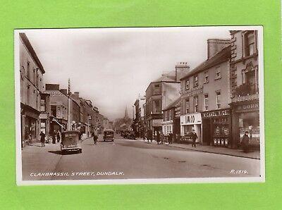 Clanbrassil Street Dundalk RP pc unused  Valentines Ref E446