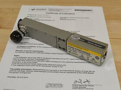 Agilent Keysight E8486a Waveguide Power Sensor 60-90ghz Wr12 Keysight Cal Cert