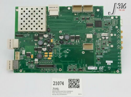 21074 Advanced Energy Pcb Paramount Main Logic 6 33020003-01 23020001-a