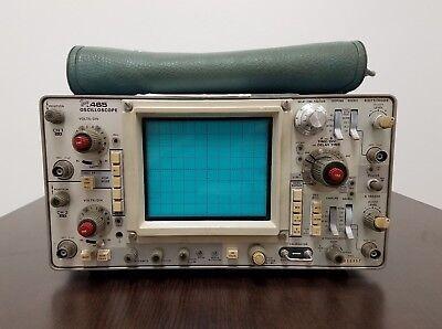 Tektronix 465 100mhz Dual Trace Oscilloscope