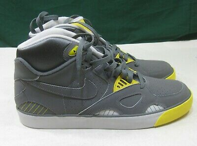 Nike Auto Trainer (Neutral Grey Vibrant Yellow) Sneakers 407935-002 Size 12