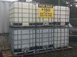 1000L portable water storage $150.00