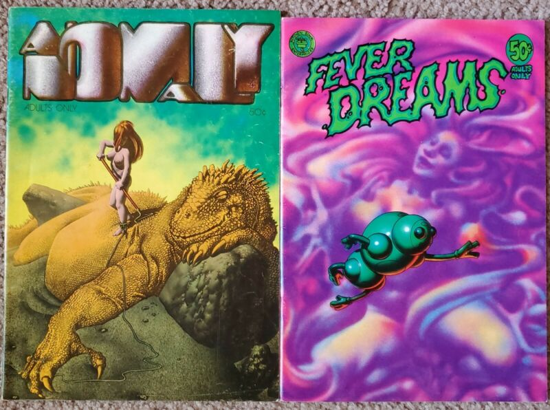 Anomaly, Fever Dreams (1972) Corben Underground Comic FINE Free Shipping!
