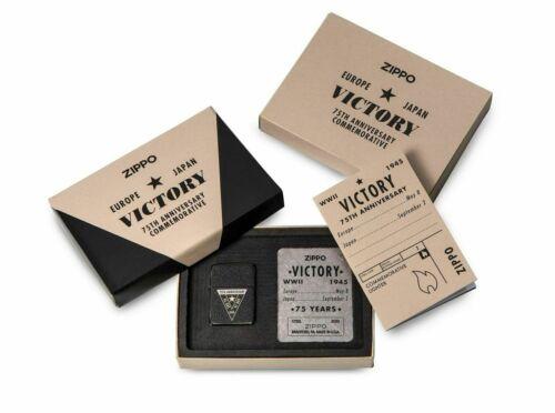 Zippo 49264, VE/VJ Day, 75th Anniversary WWII Victory 1941 Replica Lighter