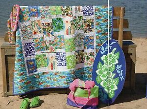Beach Party Quilt Pattern Pieced JC