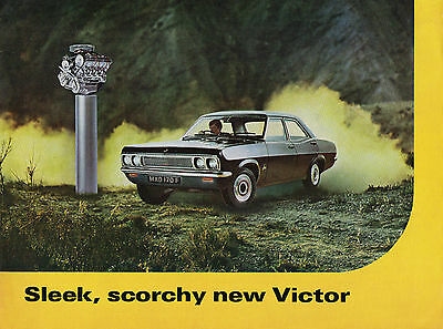 1968 Vauxhall Victor (FD model) brochure