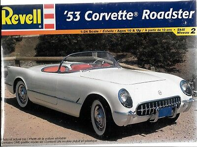 Revell 1953  '53 Corvette Roadster in 1/24  85- 2164