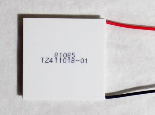 1 X FERROTEC 9500/127/085 B THERMOELECTRIC PELTIER COOLER 12V 8.5 A TEC1-12708