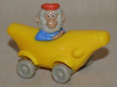 McDonalds RICHARD SCARRY Busy Town Bananas Gorilla in Banana Car