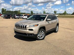 2015 Jeep Cherokee Limited Luxury V6 4X4