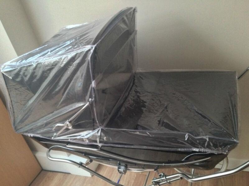 Full Rain Cover For Coach Built Silver Cross Kensington Balmoral Pram Spares