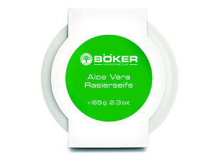 Boker-BOKER-JABoN-DE-AFEITAR-ALOE-VERA-EN-PORCELANA-CONCHA-NAVAJA-65g-Alemania