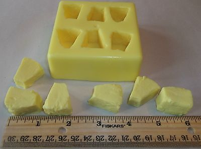 Pineapple Chunks Soap & Candle Mold -6 cavities