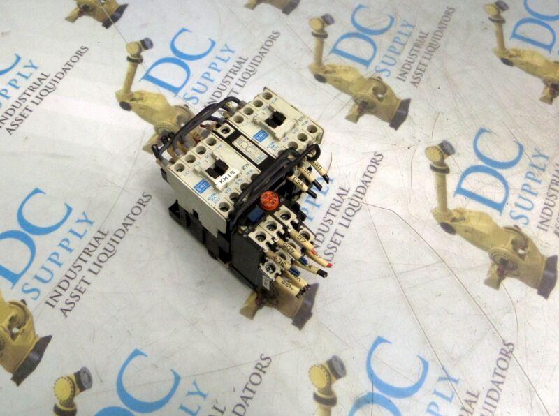 MITSUBISHI S-N11 110V REVERSING CONTACTOR