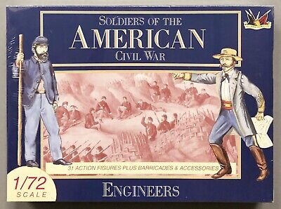 Engineers 7209 Soldiers of the American Civil War Figurines Modelmaking 1/72