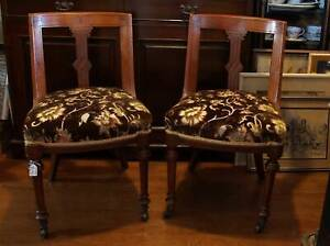 Pair of Victorian Chairs , other pairs of chairs and antiques Martin Gosnells Area Preview