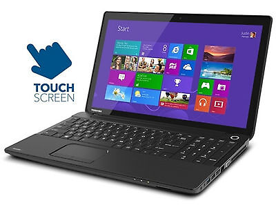 "Toshiba Satellite 15"" Touchscreen, AMD Quad-Core, 8GB,750GB,DVD HDMI WiFi Laptop"
