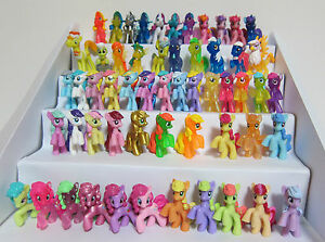 My Little Pony Lot~Blind Bag Ponies~Lot of 10 each~No Duplicate
